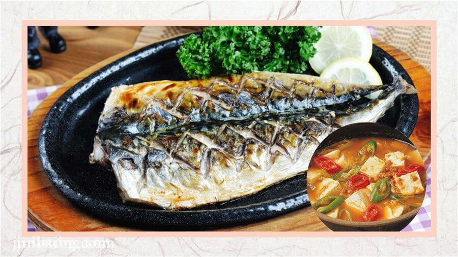 烤鯖魚 (1)