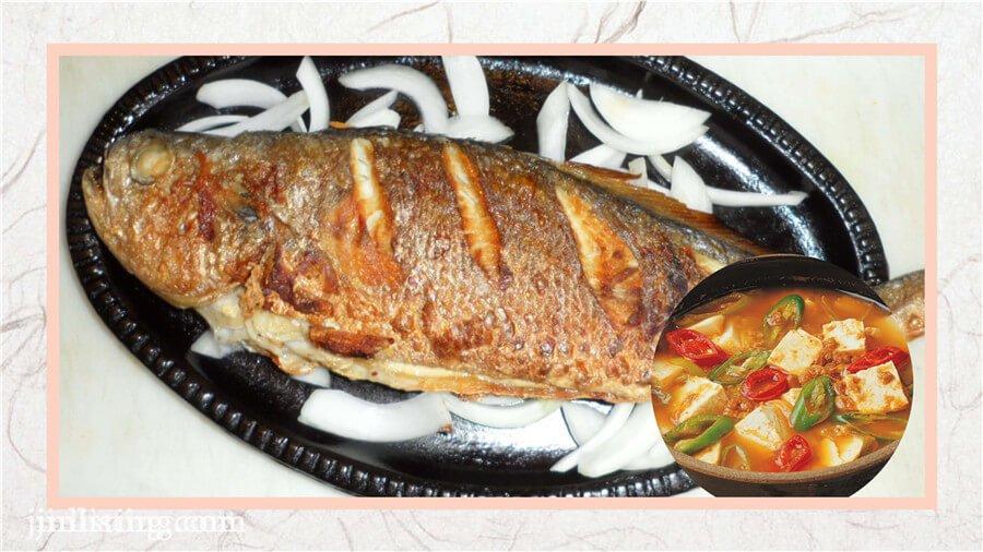 烤黃花魚 (1)