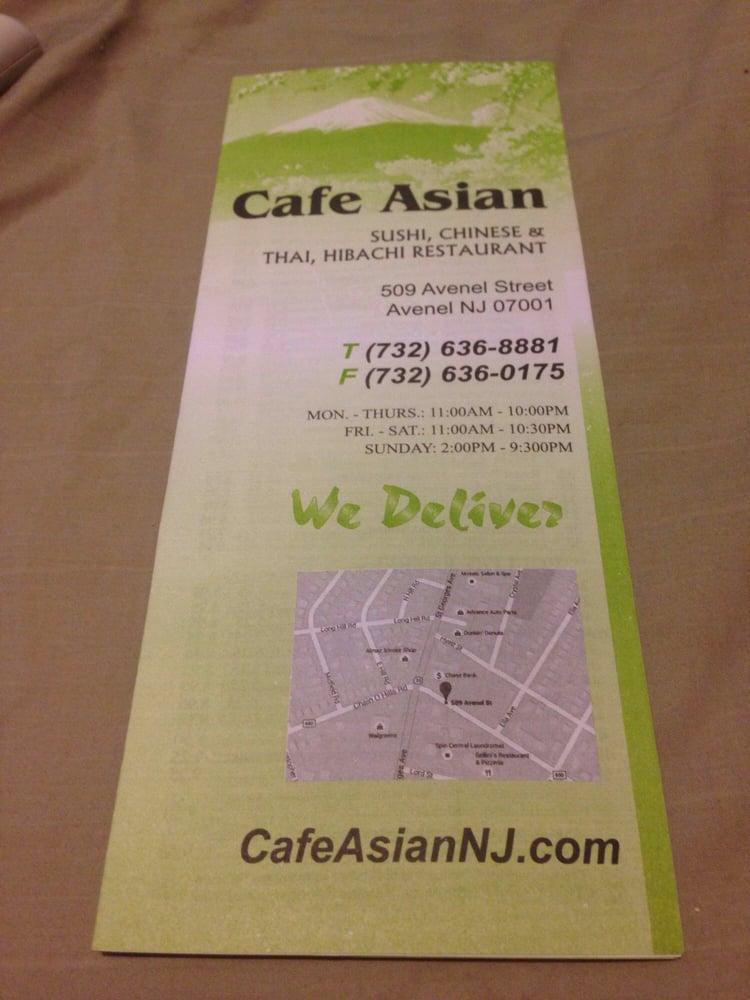 Cafe Asian(732) 636-8881