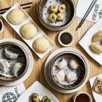 A spread of dim sum dishes at Tim Ho Wan dim sum restaurant in the East Village, on Jan. 13, 2017. (Samira Bouaou/Epoch Times)