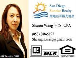 Sharon Wang Business Card