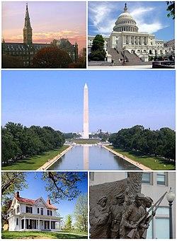 华盛顿特区周边地区,美东大城市导游