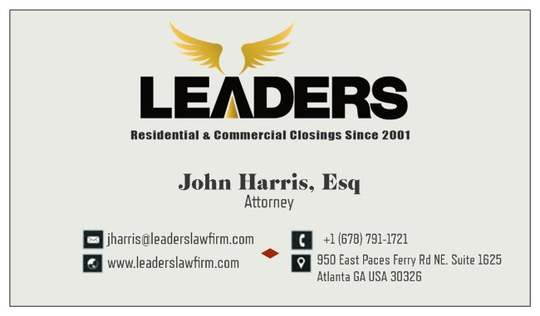 亚特兰大利德律师楼 – Leaders Law Firm-678-908-8881