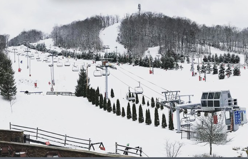 Shawnee Mountain Ski Area萧尼山滑雪区(570) 421-7231