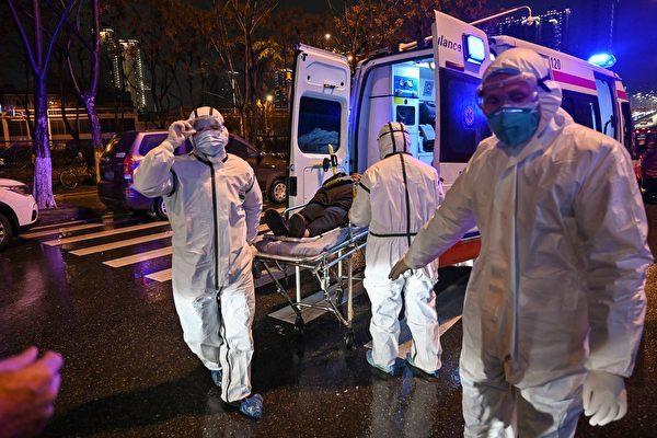 考虑到中共国防部长迟浩田的演讲,武汉肺炎新型冠状病毒疫情在武汉爆发,是否就是由于该市的P4病毒实验室在将致命病毒武器化过程中出现了意外所造成的呢? (HECTOR RETAMAL/AFP via Getty Images)