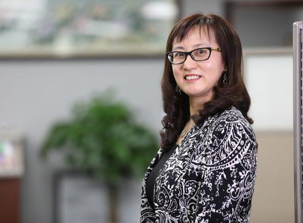 联合报税总经理Sarah Jia