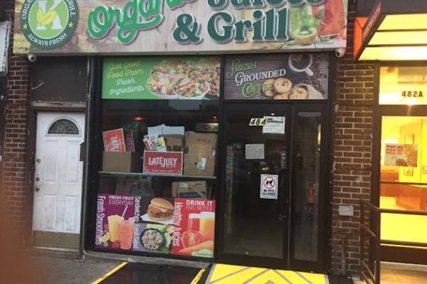 Organic Juice Bar & Grill 餐馆 718-683-5444