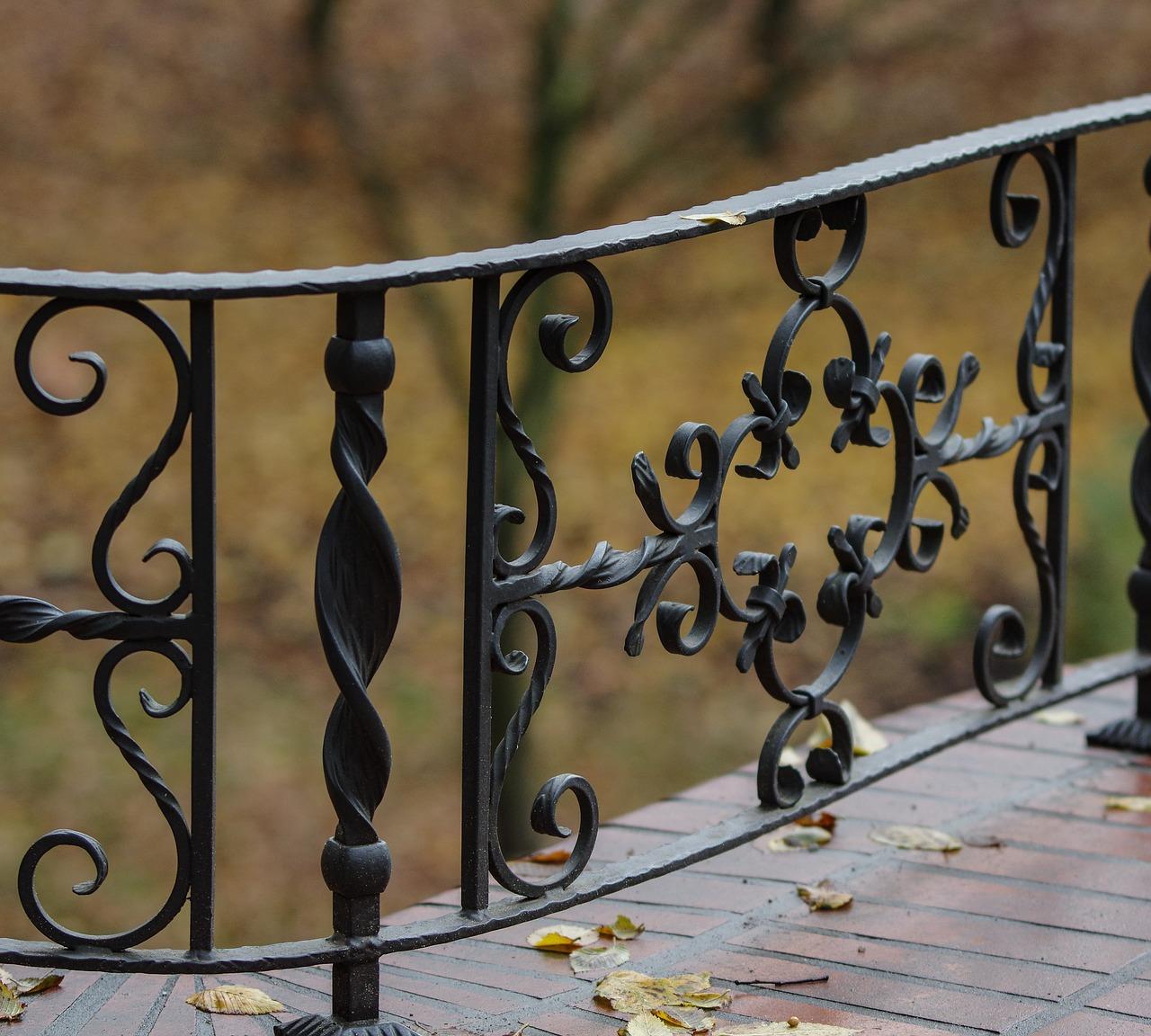 法拉盛铁艺制造/各式围栏护栏