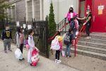 纽约市小学12/7重开校园 初高中继续全网课
