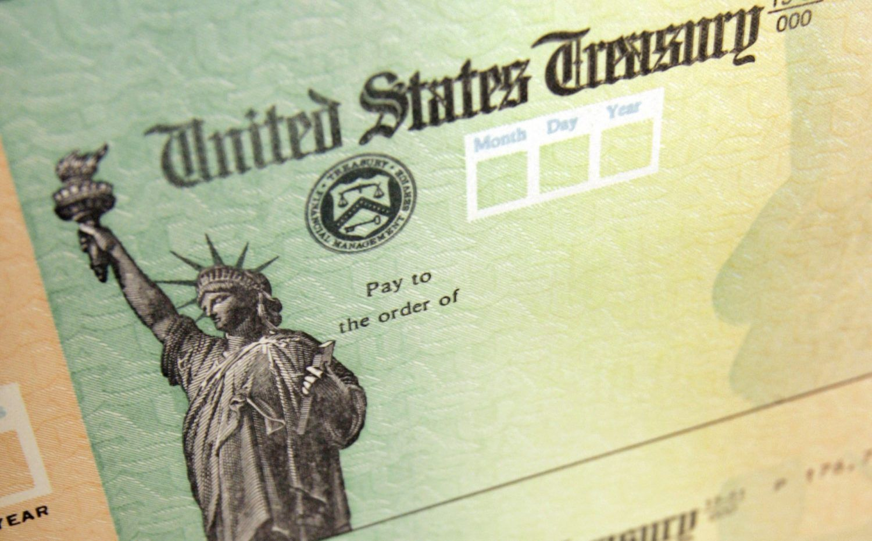 美国发放救济支票开始了