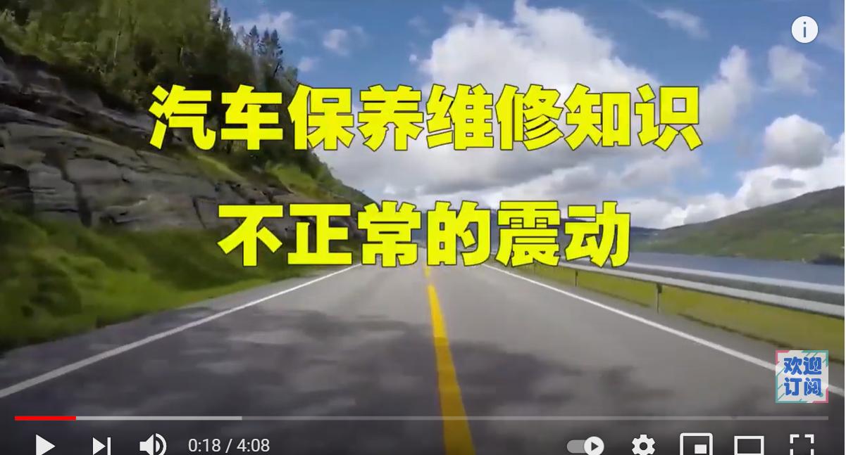 【视频】 汽车震动的原因