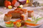 太棒了!空气炸锅烤出的脆皮五花肉(视频)