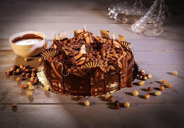 厉害了!不用面粉制作巧克力果仁蛋糕 超美味